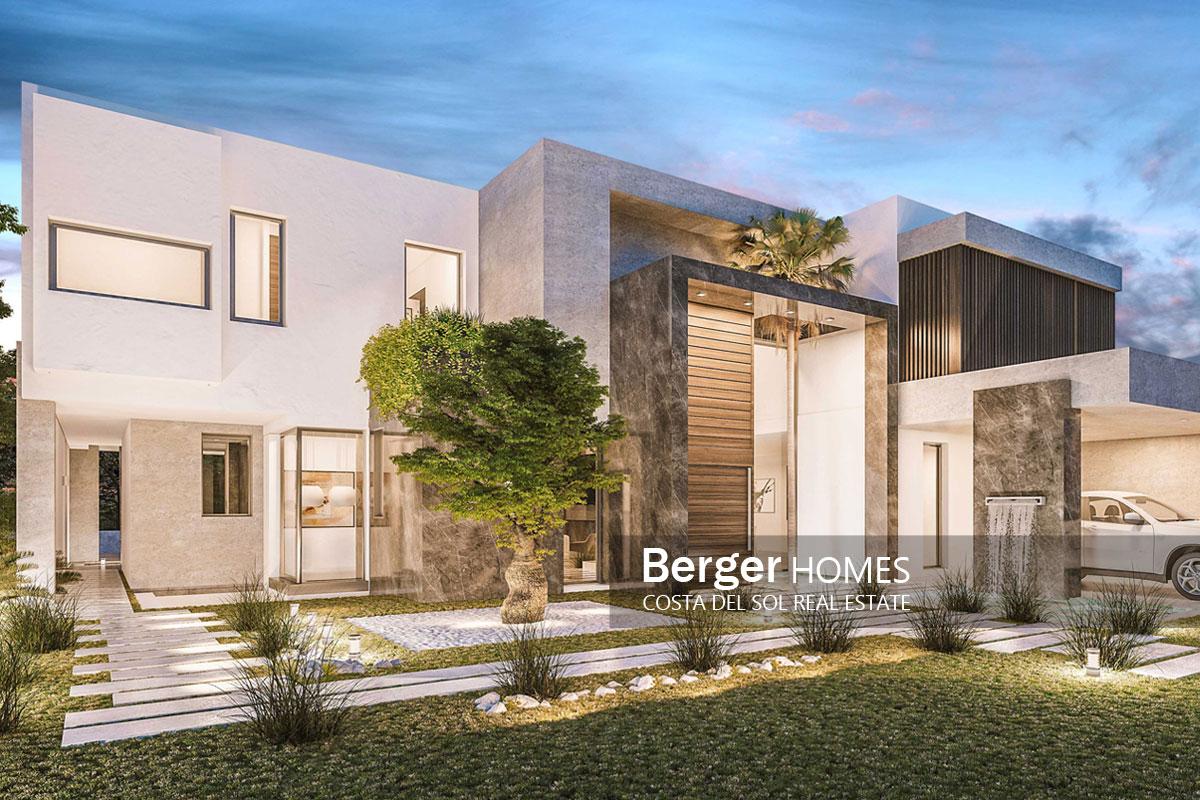 1984d430b9 Villas on the Costa Del Sol. Architecture   development of luxury villa in  Bel-Air